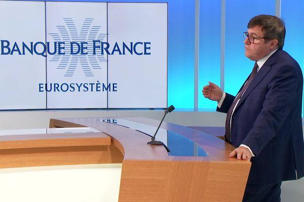 Christian Jacques Berret, directeur régional de la Banque de France Auvergne-Rhône-Alpes a fait le point sur la situation économique régionale.