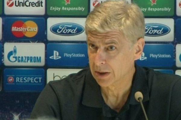 Montpellier - Conférence de presse d'Arsène Wenger, l'entraîneur d'Arsenal - 17 septembre 20120.