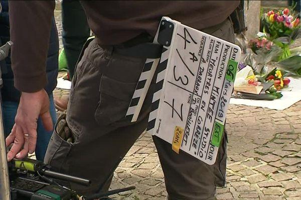 """La série """"Meurtres à...""""  de France 3 actuellement en tournage à Tulle"""