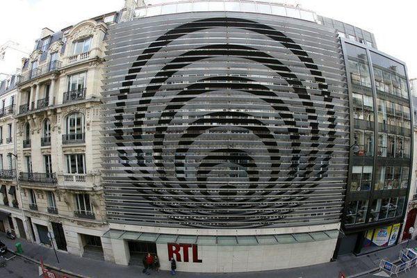 La facade de la radio RTL dessinée par Vasarely