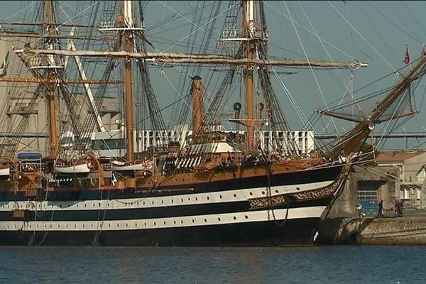 L'Amerigo Vespucci à la Rochelle