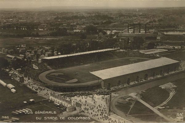 The Yves-du-Manoir stadium in Colombes, a symbolic site of Olympic history