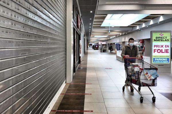 Trois centres commerciaux d'Ajaccio sont en partie fermés à partir de ce mercredi.