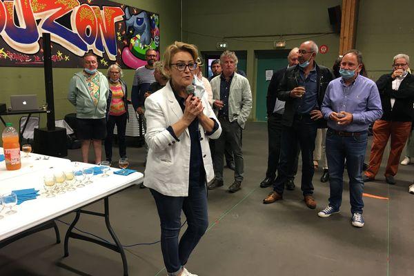La présidente sortante LR de la Creuse Valérie Simonet voit la confirmation d'un ancrage à droite du département