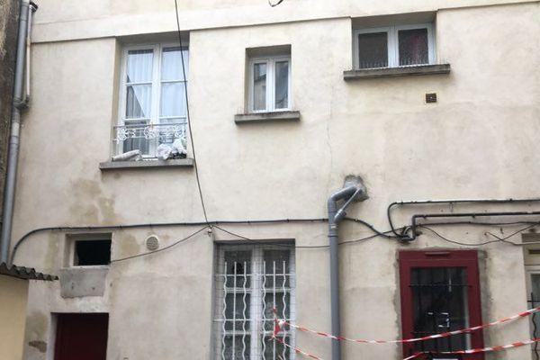 L'immeuble, situé rue Ernest-Bray à Argenteuil, a été entièrement évacué le samedi 22 décembre.