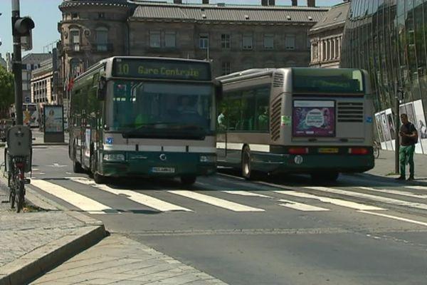 Nouveaux jets de projectiles sur bus et tram de la CTS à Strasbourg