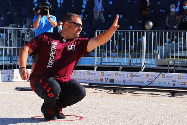 Patrick Messonnier déroule pour son premier match du Mondial La Marseillaise à pétanque 2020
