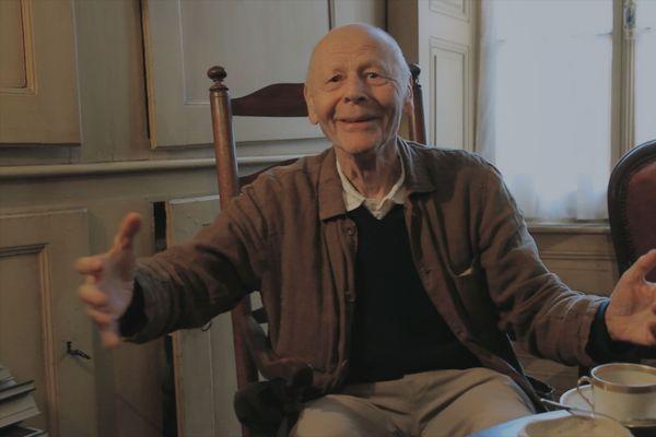 L'écrivain Pierre Michon
