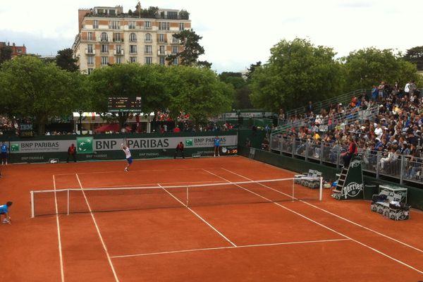 Axel Michon a été battu 6-2, 6-3, 6-2 par Kevin Anderson au second tour du tournoi de Roland-Garros