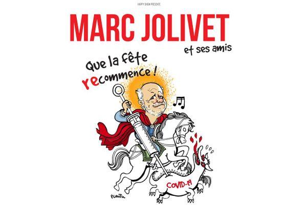 Marc Jolivet se rit de la pandémie avec son nouveau spectacle « Que la fête recommence ! » au théâtre du Jeu de Paume à Aix-en-Provence.