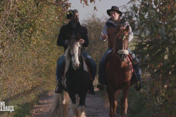 La chevauchée de Kamini dans le Val de Nièvre est dans Les gens des Hauts ce dimanche 17 mars à12H55