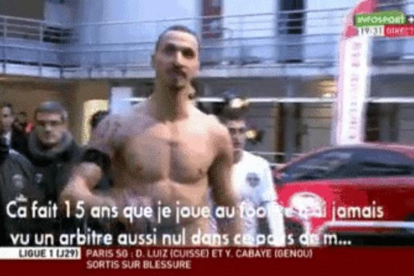 Zlatan Ibrahimovic a tenu des propos insultants vis-à-vis de l'arbitre et la France après la défaite du PSG à Bordeaux en ligue 1.