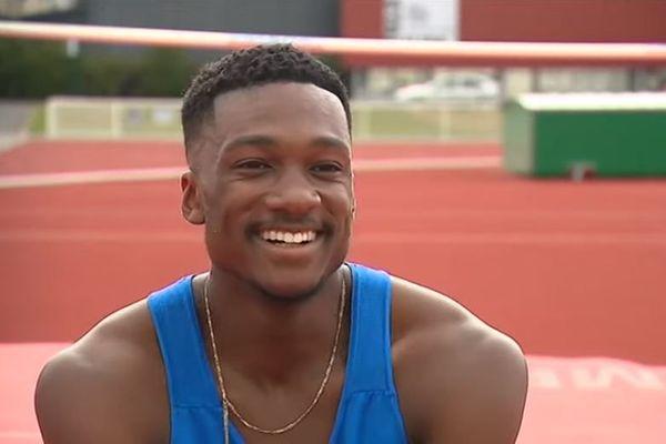 William Aubatin a été sacré champion de France 2019 de saut en hauteur, le 28 juillet dernier, à Saint-Etienne.