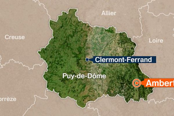 Commune de Ambert dans le Puy-de-Dôme.