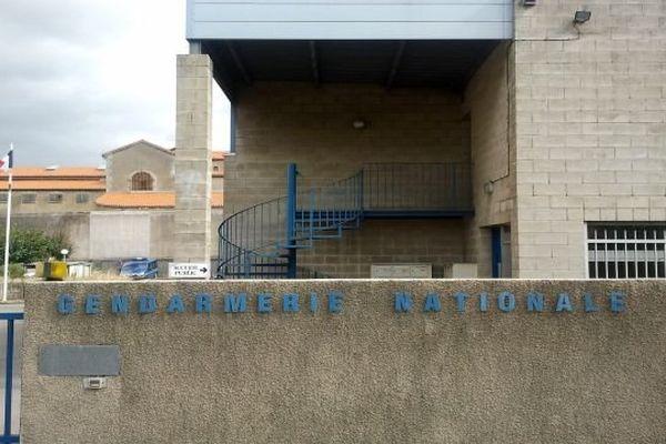 Carcassonne - la gendarmerie de l'Aude - septembre 2013.