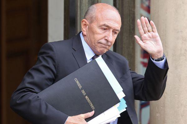 Gérard Collomb, photo AFP