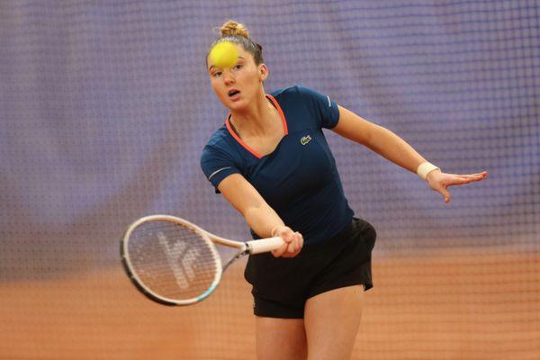 Elsa Jacquemot, 18 ans a participé pour la deuxième fois au tournoi de Roland Garros