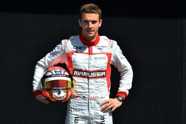 Jules Bianchi, pilote niçois de Formule 1