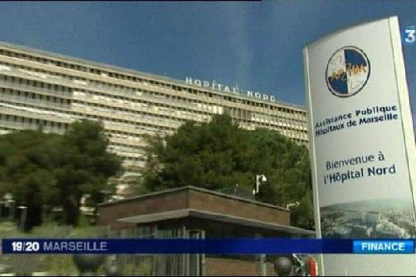 L'AP-HM, où la jeune fille est décédée de la rougeole.