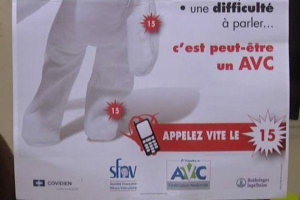 Affiche AVC
