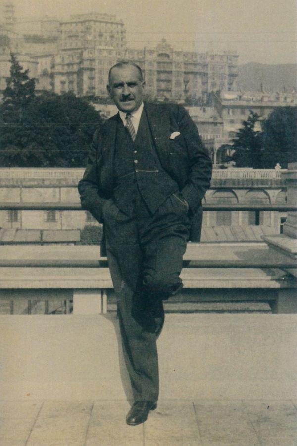 Le grand-père d'Anne Sinclair, Léonce Schwartz, avant la guerre