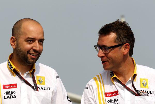 Gérard Lopez et son associé Eric Lux.
