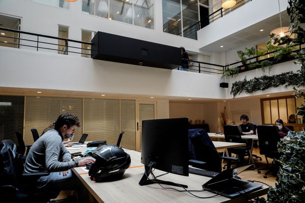 Selon le Synaphe (Syndicat national des professionnels de l'hébergement d'entreprises), la région Centre-Val de Loire compte une cinquantaine d'espaces de coworking. Photo d'illustration.