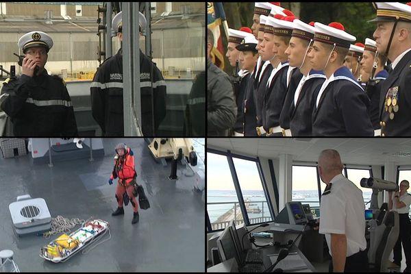Cette semaine, notre équipe vous emmène découvrir à Cherbourg les hommes et les femmes de la Marine nationale
