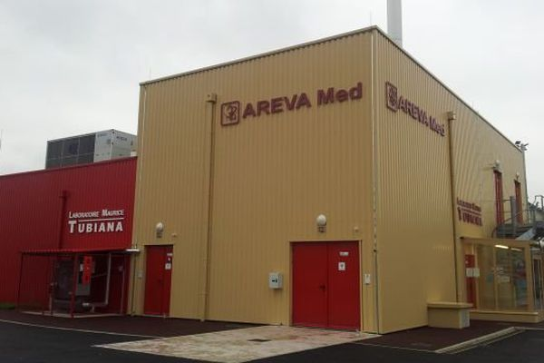 Le laboratoire Maurice Tubiana ( Areva Med) à Bessines