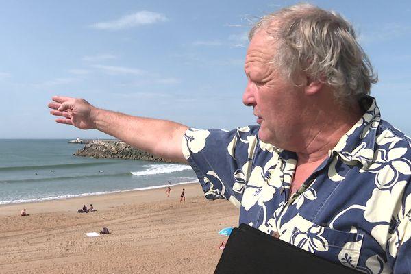 """Robert Rabani a connu la vague de La Barre plus jeune, """"la surfer, vous pouvez pas savoir, c'était un plaisir extraordinaire !"""""""