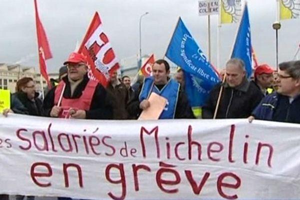 La mobilisation ne faiblit pas depuis fin janvier pour les salariés du site Michelin de Saint-Doulchard.
