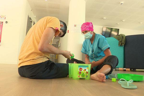 La maison d'accueil spécialisée autisme a été inaugurée vendredi 9 juillet, à Ajaccio. Elle héberge 10 résidents.