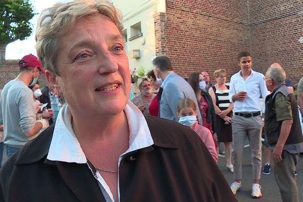 Catherine Quignon a remporté les élections municipale à Montdidier, loin devant ses adversaires.
