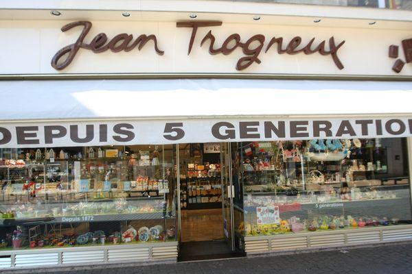 La chocolaterie Jean Trogneux à Amiens