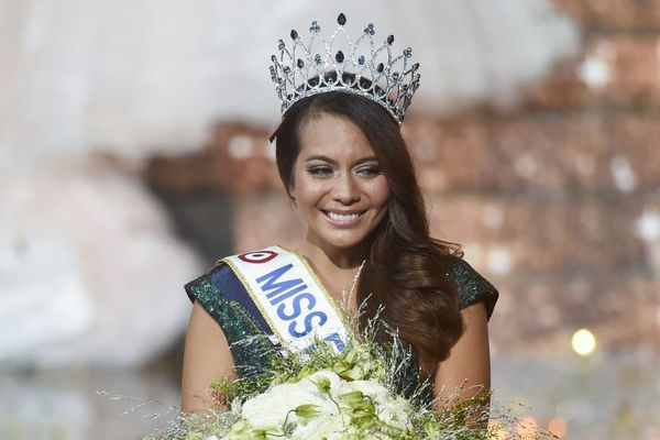 Vaimalama Chaves, élue Miss France 2019 à Lille en décembre dernier.
