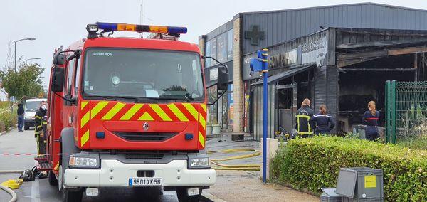 Une boulangerie a subi de gros dégâts après un incendie à Quiberon