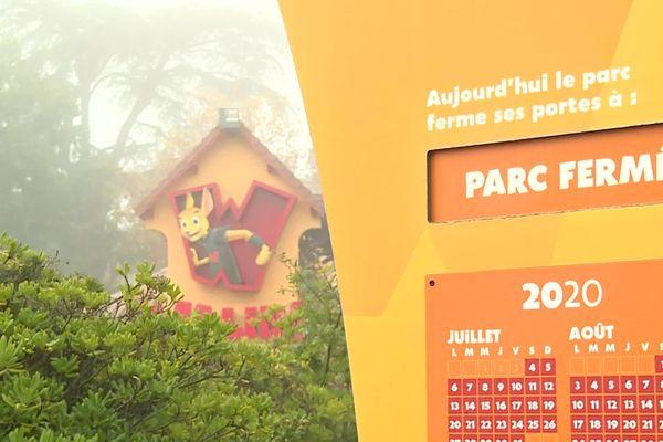 Le parc Walibi, attraction touristique de poids pour le Lot-et-Garonne, n'a pas pu accueillir les 4000 personnes attendues pour la nocturne du 31 octobre. Le parc a dû fermer deux jours plus tôt, re-confinement oblige.