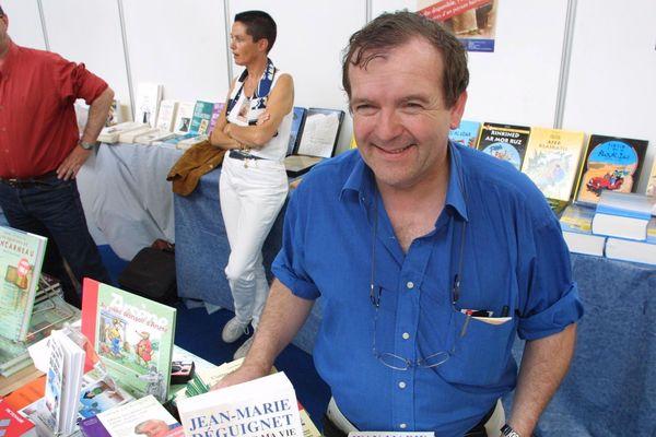 Martial Ménard au Festival Étonnants Voyageurs à saint-Malo (2001)