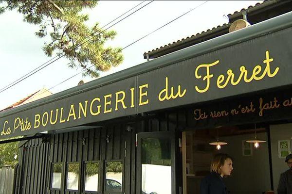 """""""La P'tite boulangerie du Ferret"""", première enseigne du réseau en plein expansion."""