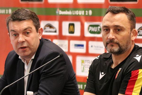 """RC Lens : """"la dynamique était cassée"""", explique Arnaud Pouille, directeur général du club"""