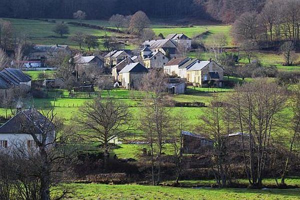 Un paysage typique du Morvan
