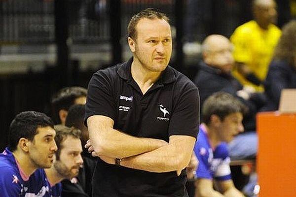 David Christmann - entraîneur de Cesson-Rennes - 2013.