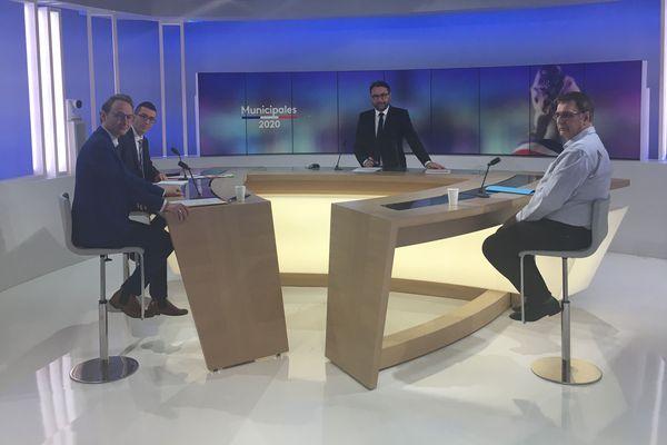 Débat du second tour des municipales avec les candidats de Châlons.