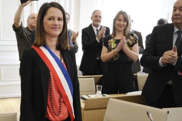 Johanna Rolland élue 135ème maire de Nantes