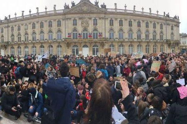 Le 15 mars dernier, les jeunes manifestaient à Nancy pour le climat.
