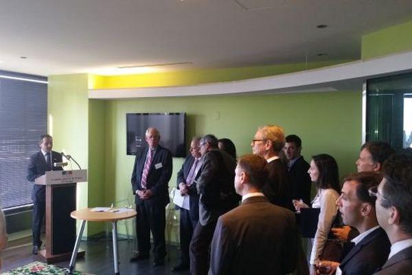 La délégation limougeaude reçue au consulat de France à Chicago