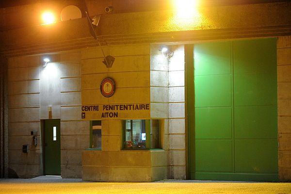 Le centre pénitentiaire d'Aiton, en Savoie,