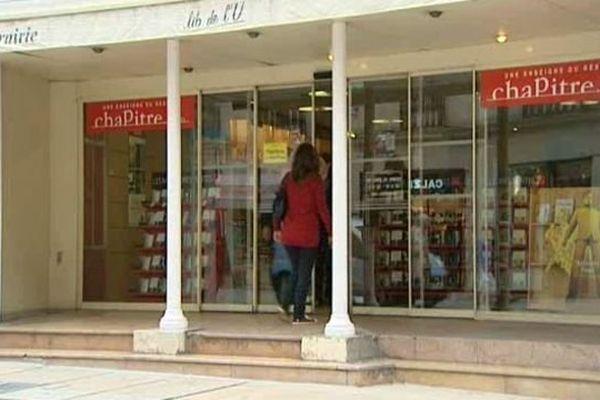 Le réseau des 53 librairies Chapitre est mis en liquidation judiciaire, dont celle de Dijon