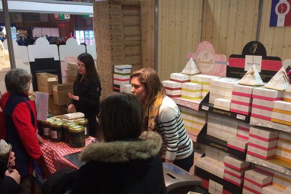 Au Salon de l'Agriculture, les madeleines Jeannette exposent pour la première fois
