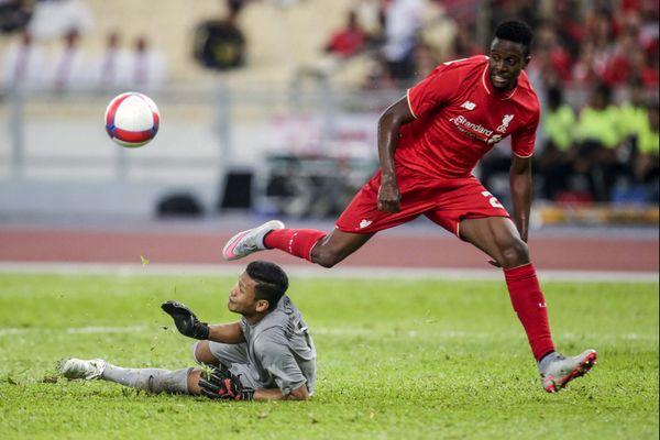 Les droits d'image de Divock Origi, ici avec Liverpool en 2015, ont également été proposés à Doyen Sports